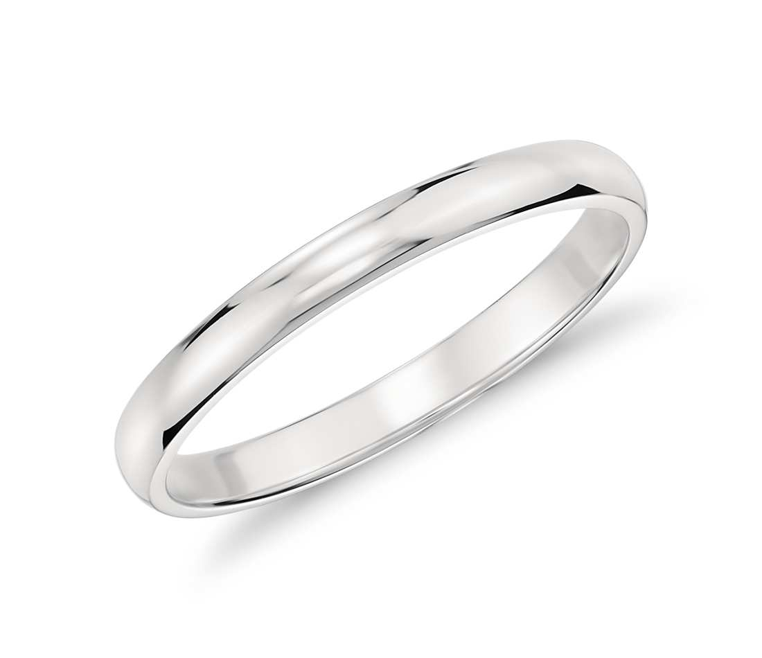 Platinum Wedding Rings.Platinum Classic Wedding Ring