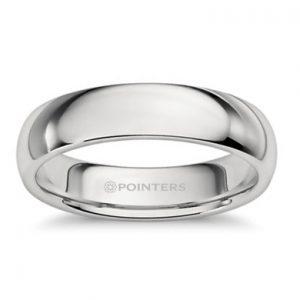 2579f71827c Platinum Comfort Fit Wedding Ring